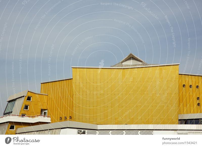 die gelbe Philharmonie Kunst Architektur Veranstaltung Konzerthalle ästhetisch Berliner Philharmonie Gebäude Klassik Musik Orchester Kulturforum Berlin gold