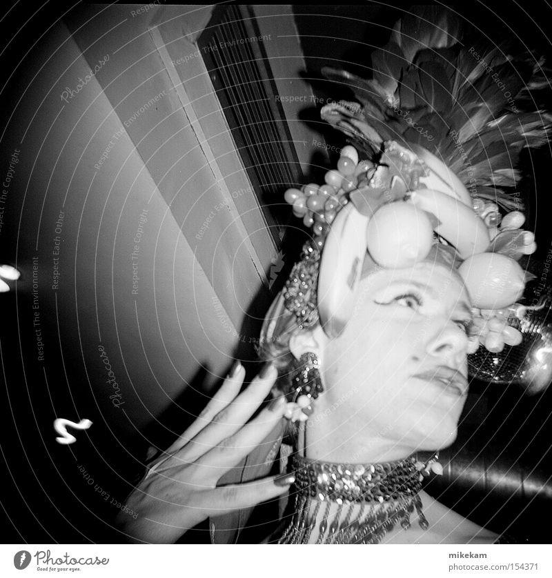 Freude Frucht Lager Tracht Lippenstift Vignettierung Transvestit