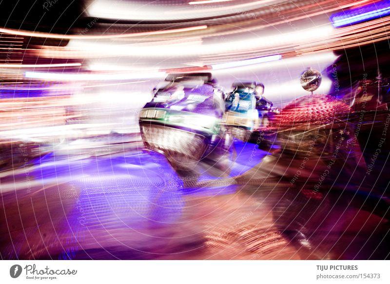KIRMES SPEED Jahrmarkt Karussell Geschwindigkeit Licht Drehung drehen Schwindelgefühl Breakdancer Freude