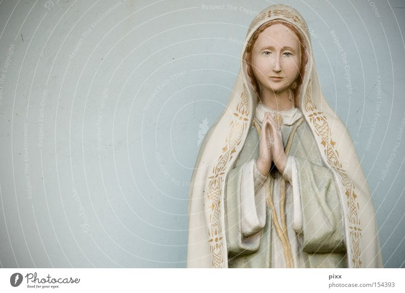Maria Maria Frau Himmel Weihnachten & Advent schön Erwachsene feminin Religion & Glaube Kunst Dekoration & Verzierung ästhetisch Zeichen Hoffnung Gottesdienst