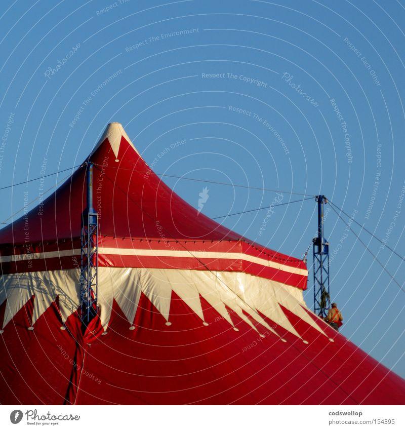 circus maximus Veranstaltung Zelt Demontage Ausstellung Zirkus Entertainment Umbauen Dachdecker Zirkuszelt Gerüstbauer enorm Heiligengeistfeld