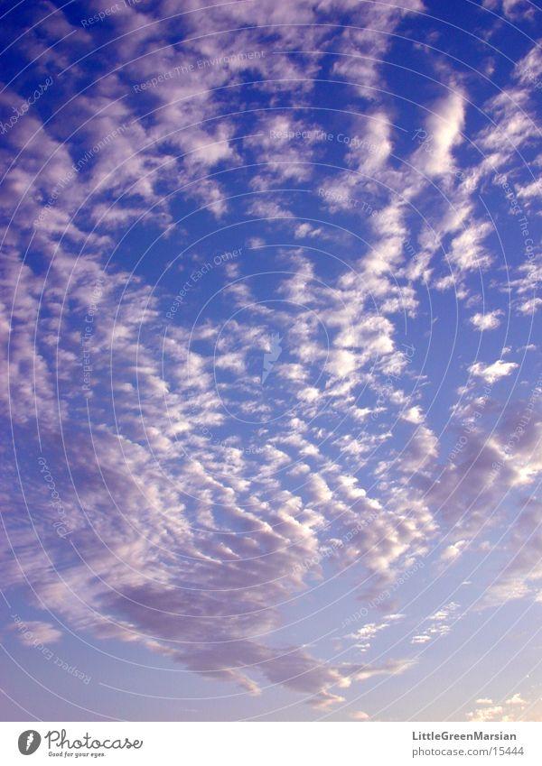 schäfchenwolken Sonne Wolken Blauer Himmel