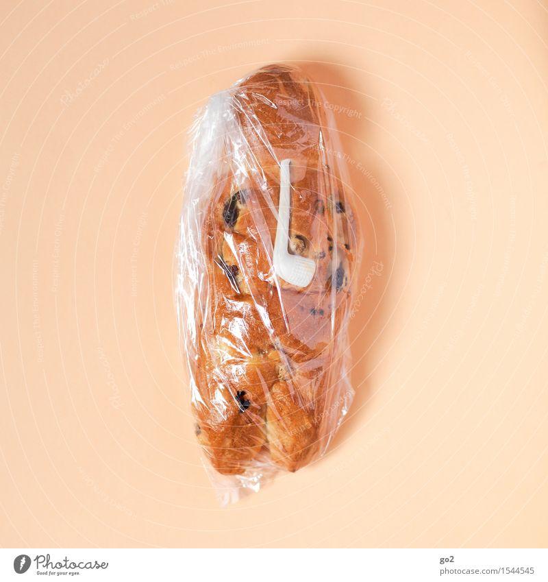 Weckmann Weihnachten & Advent Essen Lebensmittel braun Ernährung lecker Appetit & Hunger Brot Backwaren Verpackung Teigwaren Kunststoffverpackung Pfeife