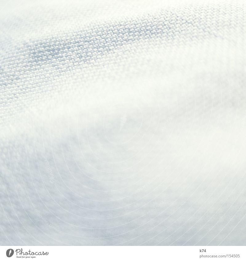 Nîmes - Gênes Stoff hell Baumwolle Jeanshose Jeansstoff Wellen leicht Textilien gewebt Weben Schneider Bekleidung Makroaufnahme Nahaufnahme Denim