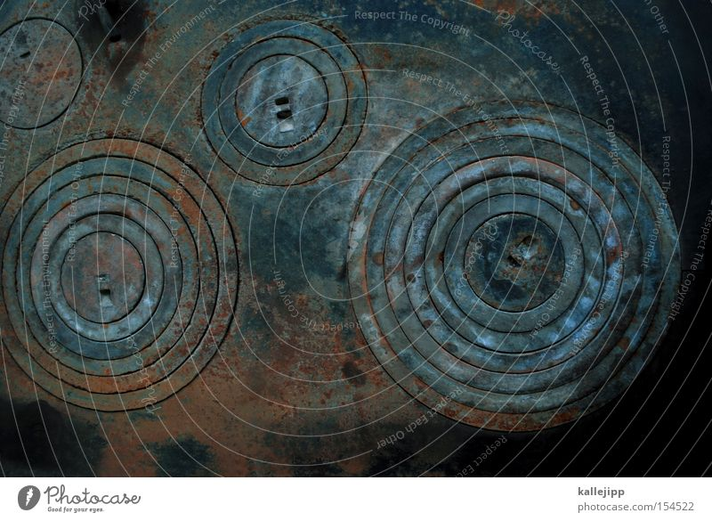 sonne, mond und sterne Kreis Ring Geometrie Herd & Backofen Eisen Rost Kochplatte Küche Planet Physik rund Himmelskörper & Weltall Gravitationsfelder Astronomie