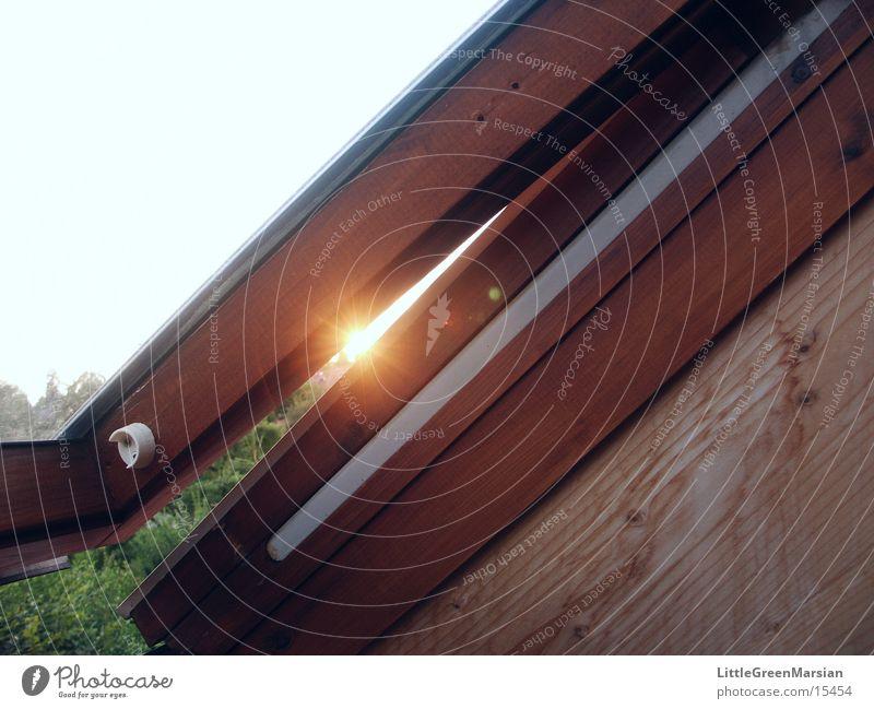 Interferenz am Einzelspalt Sonne Spalte Dachfenster