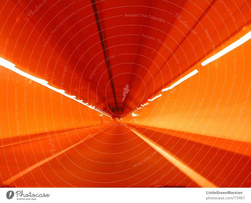 tunnel Tunnel Paris Nacht langzeitbelichtet Licht Unschärfe