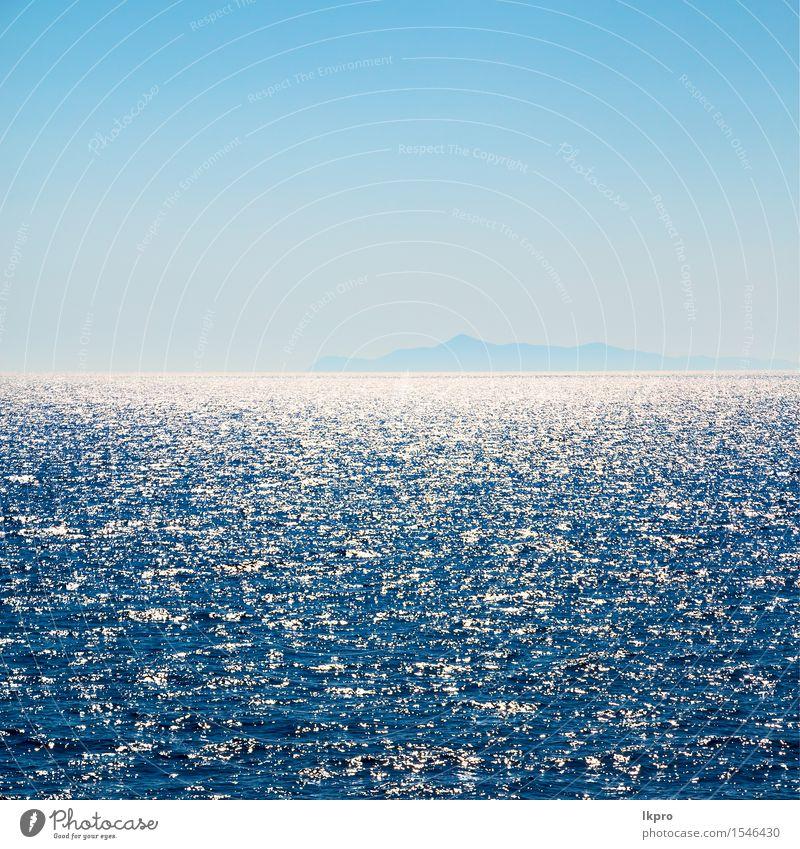 und der Hintergrund Hügel Himmel Natur Ferien & Urlaub & Reisen blau schön Sommer Farbe weiß Sonne Meer Landschaft schwarz Berge u. Gebirge Umwelt Bewegung
