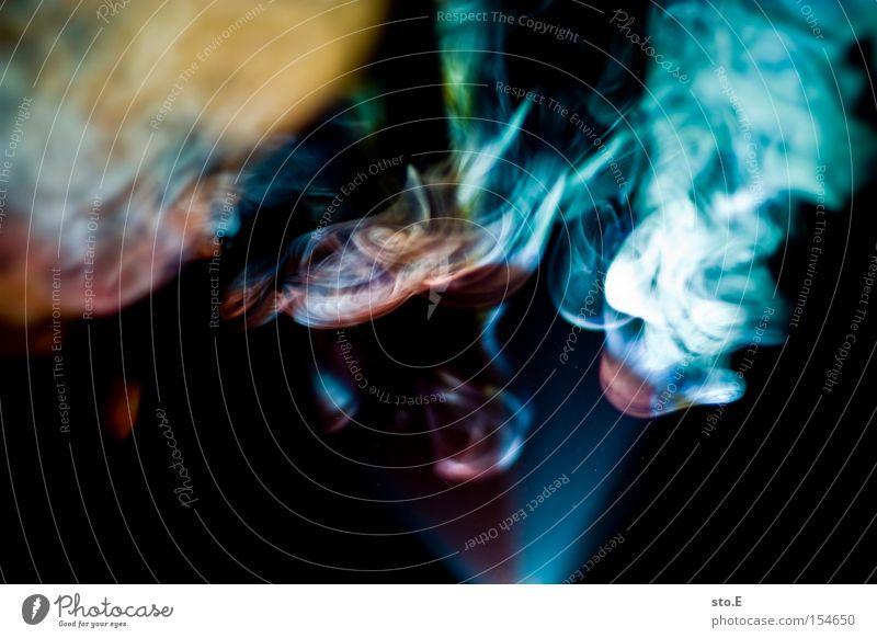 nicht mehr als schall und rauch Licht Farbe mehrfarbig Rauch Feste & Feiern Beleuchtung grell schwarz abstrakt Hintergrundbild Konzert Musik Club