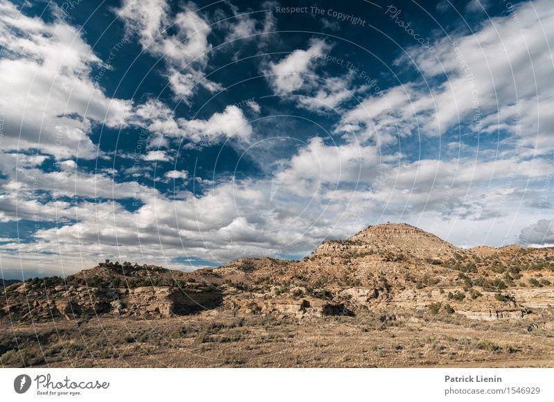 Colorado Desert Ferien & Urlaub & Reisen Ausflug Abenteuer Ferne Berge u. Gebirge Natur Landschaft Urelemente Sand Himmel Wolken Sommer Klima Klimawandel Wetter