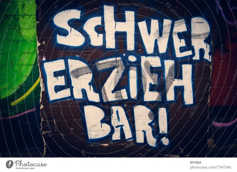 ?!? Kindererziehung ADS Jugendkultur Schriftzeichen Graffiti Konflikt & Streit Unendlichkeit Selbstbeherrschung Toleranz Sorge Unlust Erschöpfung schuldig