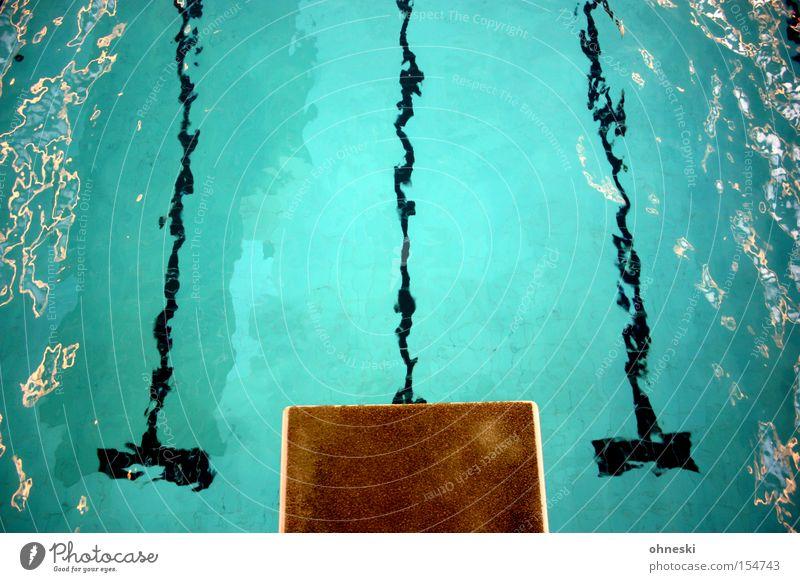 Wer springt mit? Sprungbrett Schwimmbad Freibad springen Wasser Höhe Salto Wassersport Freizeit & Hobby Sport Spielen 3-Meter-Brett Arschbombe