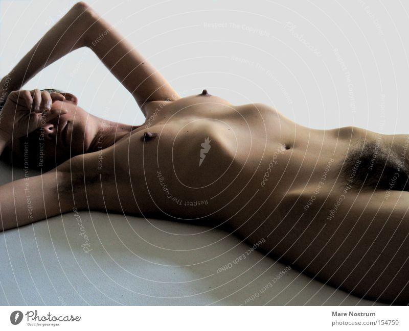 Italian skin Akt Brust Erotik nackt Haare & Frisuren Frauenbrust Mensch Scheide Genitalsystem Gefühle Weiblicher Akt