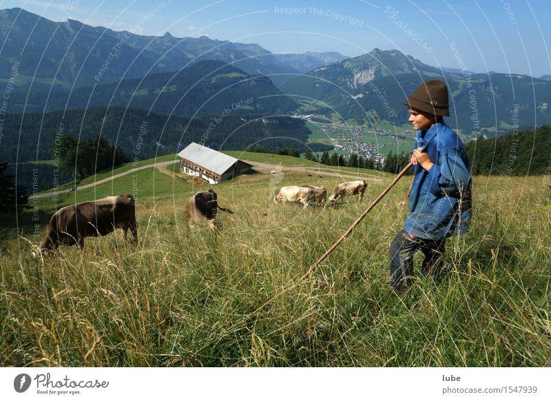 Der Pfister Freizeit & Hobby Ferien & Urlaub & Reisen Tourismus Sommer Berge u. Gebirge wandern Arbeitsplatz Landwirtschaft Forstwirtschaft Umwelt Natur