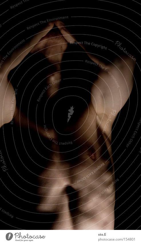 species Mensch Mann schwarz nackt Kopf Körper Arme Brust Lebewesen Muskulatur Akt Außerirdischer