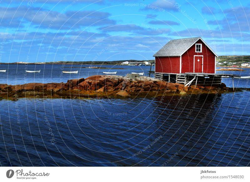 ein ruhiges Plätzchen Umwelt Natur Landschaft Urelemente Wasser Himmel Horizont Klima Klimawandel Schönes Wetter Meer Atlantik fantastisch Ferne Freundlichkeit