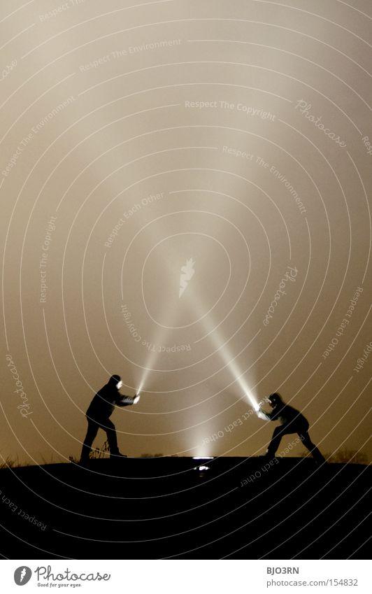 Meister Lampe VS. Ray McShine #1 dunkel Strahlung kämpfen Sportveranstaltung Licht Konkurrenz Anordnung Kampfsport Nacht Gesprächspartner gegenüber