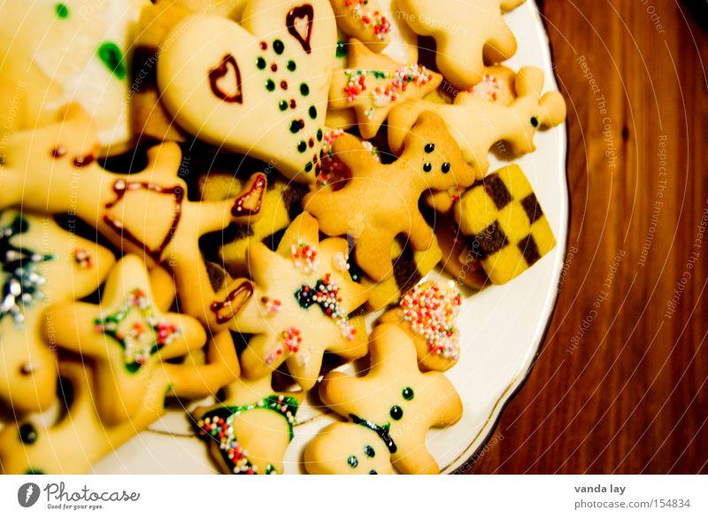 Weihnachtsreste Plätzchen Weihnachten & Advent Keks Teigwaren Vorfreude Dessert lecker Tradition Backwaren Herz Stern (Symbol) verführerisch viele backen