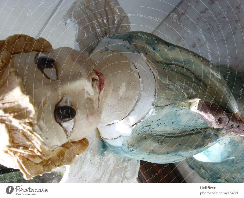 Engel Flügel Handwerk Religion & Glaube selbstgemacht Keramik Flöte