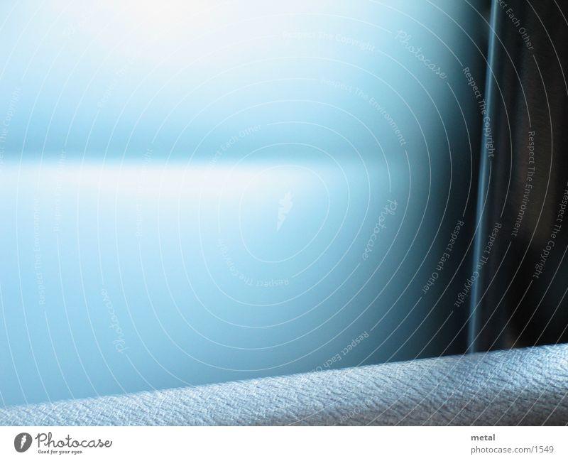 Blauer Fade weiß Hintergrundbild Fototechnik blau Unschärfe