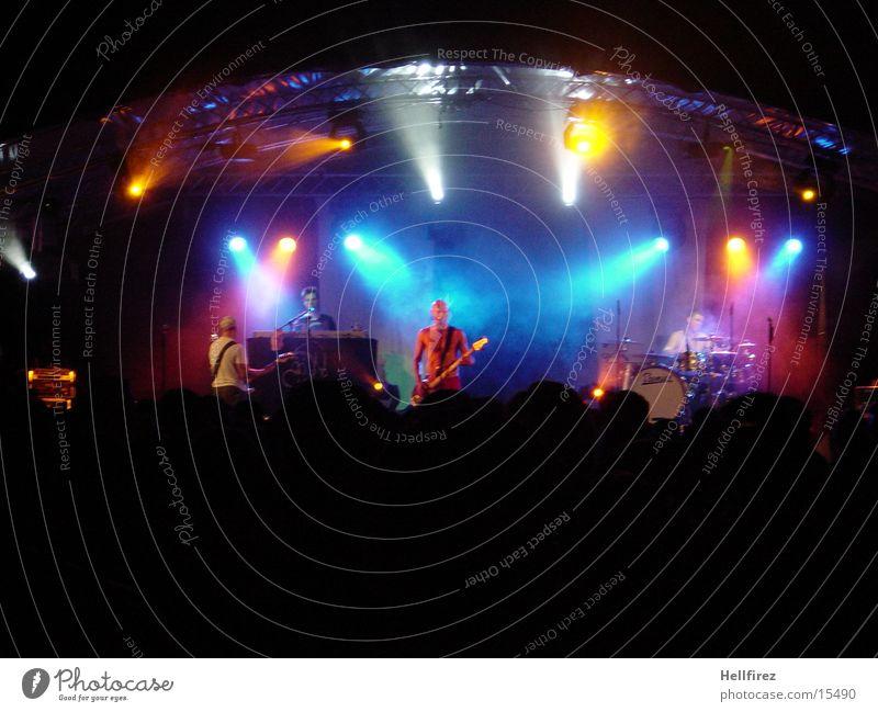 Partytime [2] Mensch Konzert Bühne Lichtspiel Musiker