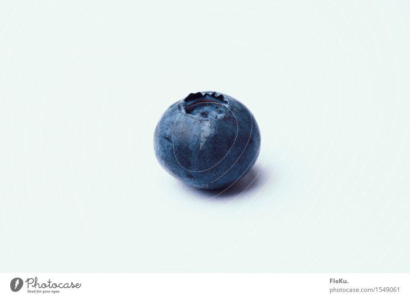 Blau, blauer, Blaubeere blau Gesunde Ernährung natürlich Gesundheit Lebensmittel Frucht frisch Ernährung einzeln Bioprodukte Beeren Vegetarische Ernährung Diät Fasten Blaubeeren
