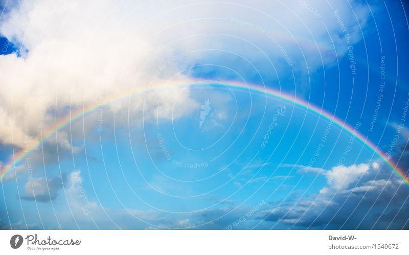 Im Doppelpack Kunst Kunstwerk Umwelt Himmel nur Himmel Wolken Sonne Sonnenlicht Frühling Sommer Klima Klimawandel Wetter Schönes Wetter Unwetter Regen Gefühle