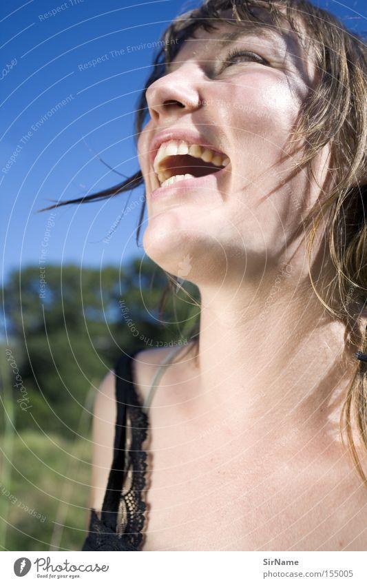 54 [lebensfreude] Freude schön Frau Erwachsene lachen einfach fantastisch lustig Lebensfreude Lust herzlich Witz wundervoll Schulklasse Farbfoto Tag Kontrast