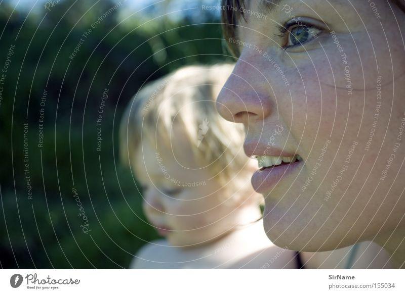 57 [zukunft familie?] Gesundheit Kind Baby Kleinkind Frau Erwachsene Mutter Familie & Verwandtschaft nah Hoffnung Erwartung Fürsorge Zukunft Aussicht Intimität