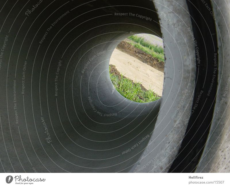 Auf der anderen Seite [6] Beton Silhouette Fototechnik Profil Kontrast Röhren