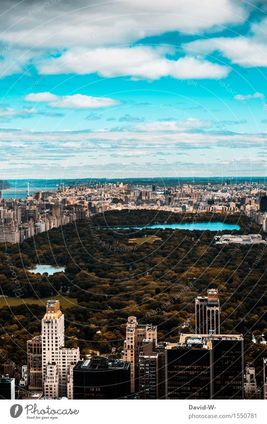 Central Park Ferien & Urlaub & Reisen Architektur Leben Lifestyle Business Arbeit & Erwerbstätigkeit Tourismus Häusliches Leben Hochhaus Erfolg Ausflug groß