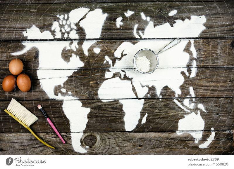 Schöne Kulisse aus dem Mehl Kuchen Freizeit & Hobby Ferien & Urlaub & Reisen Dekoration & Verzierung Koch Handwerk Business Kunst Urelemente Erde Liebe machen