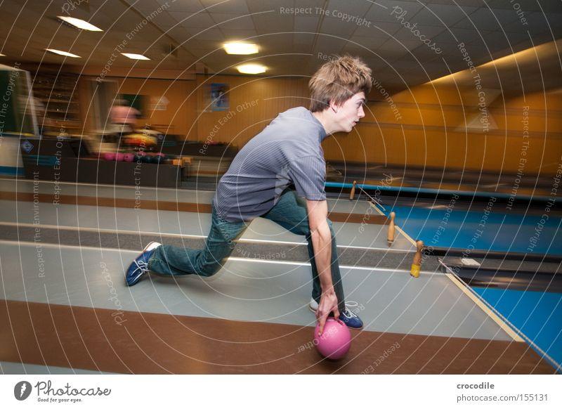 alle 9 Freude Sport Spielen Haare & Frisuren Kraft Kraft Geschwindigkeit T-Shirt Freizeit & Hobby Kugel Dynamik Bahn Schuhe Kegeln