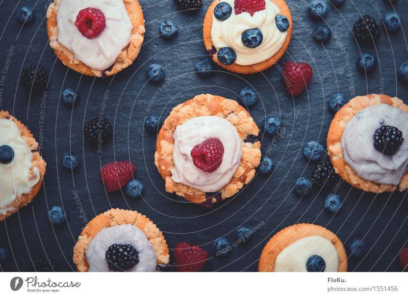 Abwechslung muss sein Lebensmittel Frucht Teigwaren Backwaren Dessert Süßwaren Ernährung Kaffeetrinken Bioprodukte Vegetarische Ernährung Fingerfood frisch