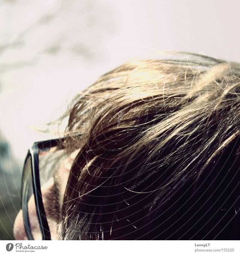 FIESER MOEPP Detailaufnahme Brille Haare & Frisuren Gesicht sanft weich smooth