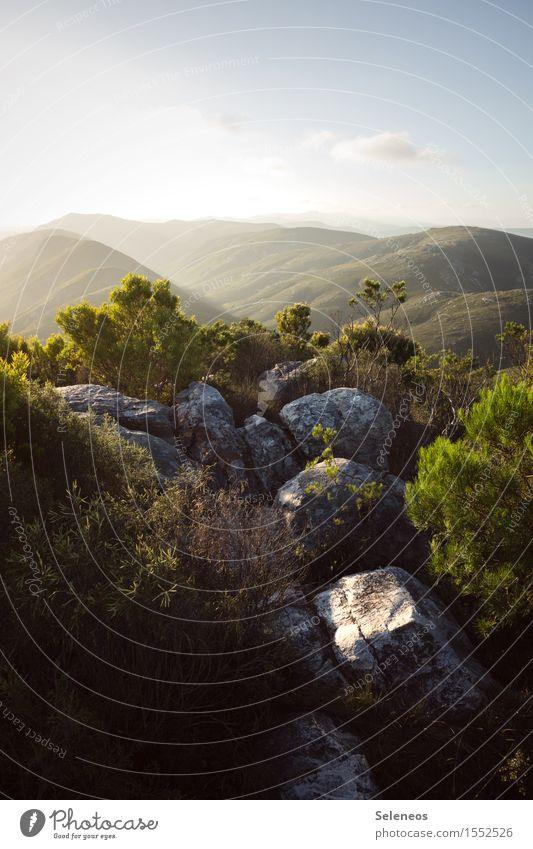 Wanderlust Himmel Natur Ferien & Urlaub & Reisen Sommer Sonne Landschaft Wolken Ferne Berge u. Gebirge Umwelt natürlich Freiheit Horizont Tourismus wandern