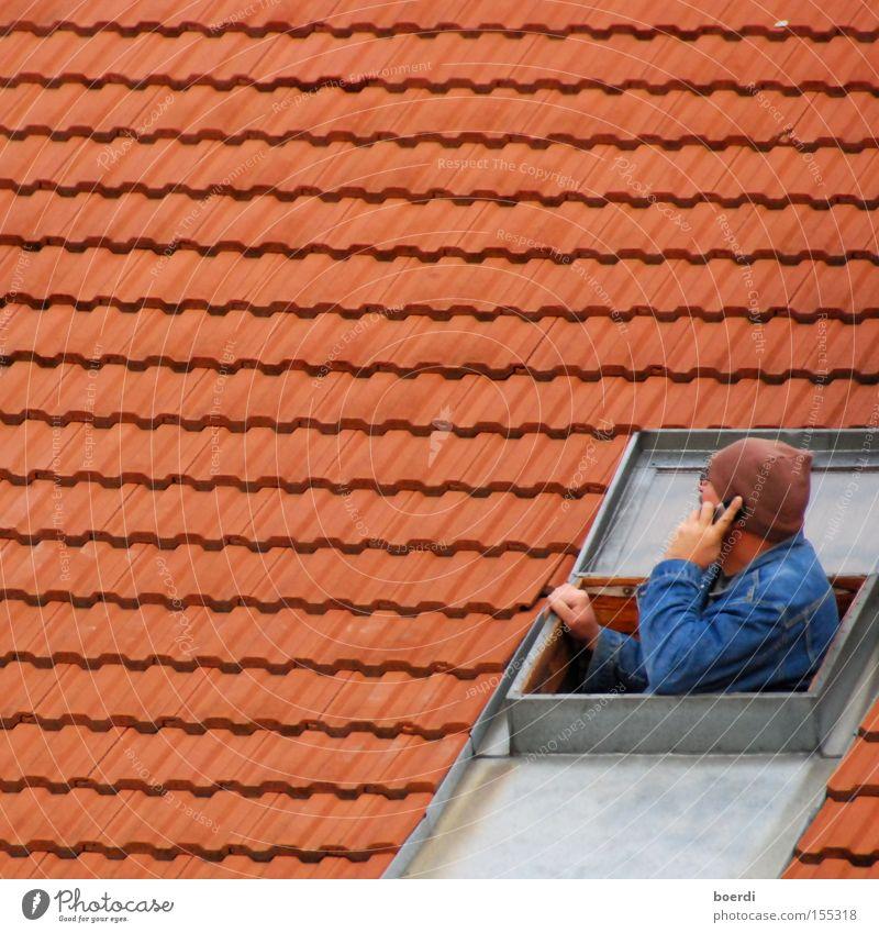 fUnkloch Farbfoto Außenaufnahme Nahaufnahme Strukturen & Formen Textfreiraum links Textfreiraum oben Tag Starke Tiefenschärfe Profil Ferne Wohnung Haus sprechen