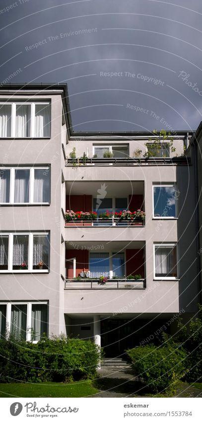 wohnen Stadt schön Haus Architektur Berlin Stil Gebäude Deutschland Fassade Wohnung Häusliches Leben modern ästhetisch Bauwerk Balkon Wohnhaus