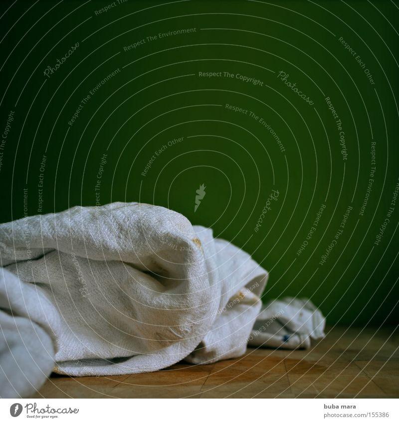 trocken weiß grün Holz Wassertropfen Stoff Küche Sauberkeit Holzbrett Haushalt Schneidebrett Handtuch Tuch Geschirrspülen Körperpflegeutensilien Baumwolle Haushaltsführung