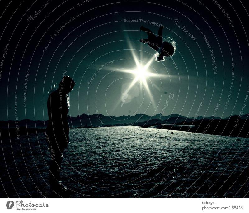 blue planet Mensch Sonne Winter Berge u. Gebirge Leben Denken Alpen Vergänglichkeit Trauer Weltall Verzweiflung Puppe Planet Geburt streben
