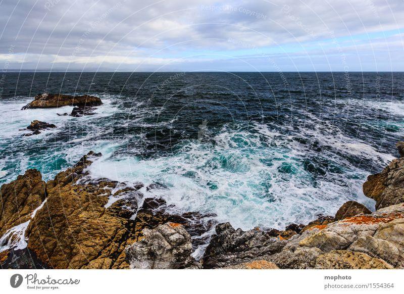 South Atlantic Coast Ferien & Urlaub & Reisen Tourismus Städtereise Meer Wellen Umwelt Natur Landschaft Urelemente Wasser Himmel Wolken Horizont Klima