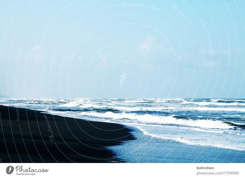 orientierung | immer wieder zum meer Himmel Natur Ferien & Urlaub & Reisen schön Meer Landschaft Erholung Wolken Ferne Strand Küste außergewöhnlich Freiheit