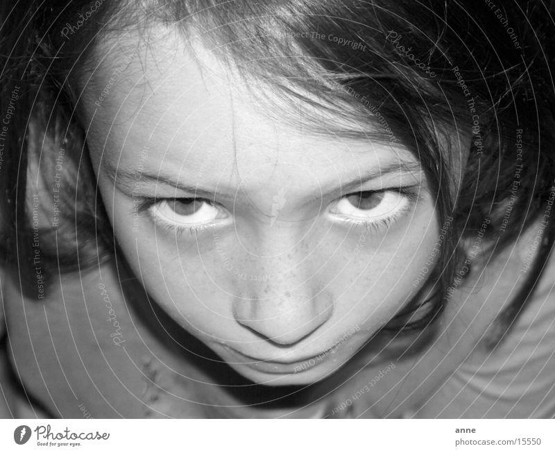 alien Mädchen Gesicht Auge