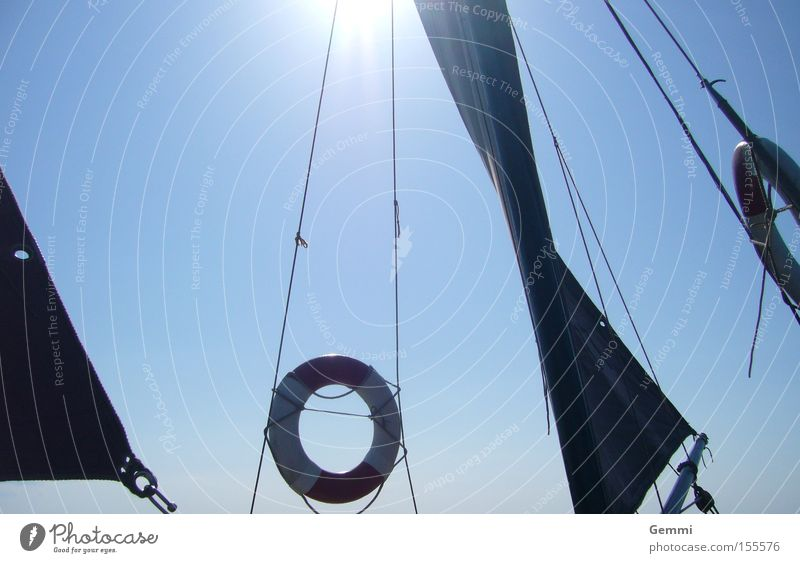 Sailing Wasser Sonne Meer Sommer Ferien & Urlaub & Reisen ruhig Sport Erholung Spielen See Wasserfahrzeug Wellen Wind Segeln Ostsee Segelboot