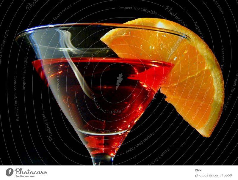 CampariOrange rot Cocktail Alkohol organge Glas Aperitif