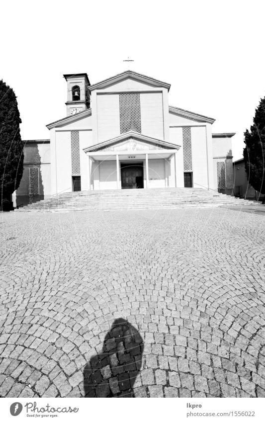 Spalte alte Architektur in Italien Europa Mailand Himmel Ferien & Urlaub & Reisen Stadt schön weiß Landschaft Haus schwarz Religion & Glaube Gebäude Kunst Stein