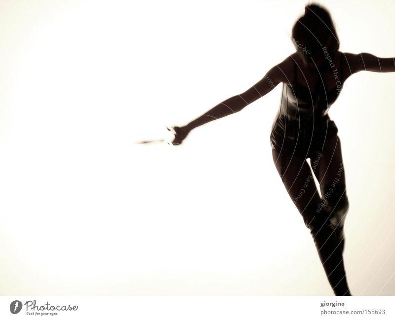 Frau Schere Hand Latex Erotik weiß schwarz Kontrast Composing Tracht Entwurf Angst Panik Bekleidung nett Hintergrundbild Titten