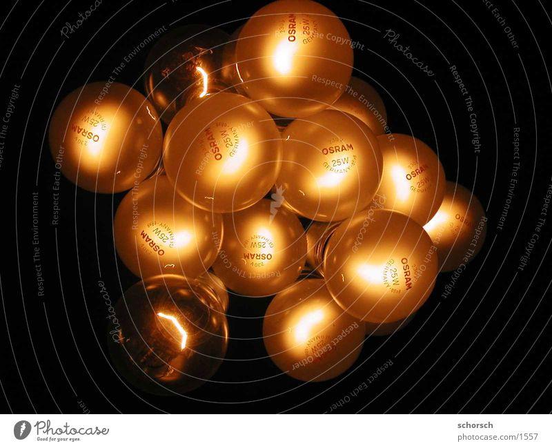 Osrama Glühbirne Licht Elektrizität Nacht Häusliches Leben Lampe