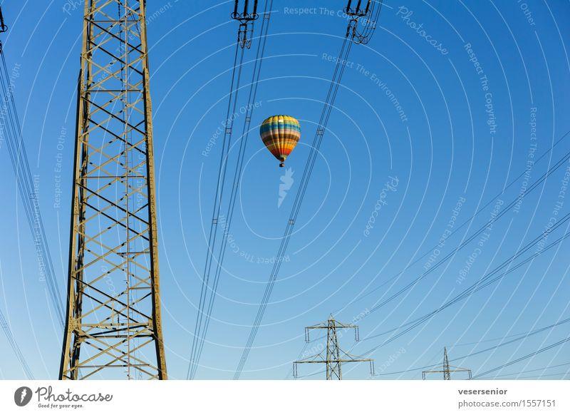 immer schön oben bleiben nr.2 blau Sommer fliegen Horizont Energiewirtschaft Angst frei einzigartig bedrohlich Abenteuer Neugier Sicherheit Unendlichkeit