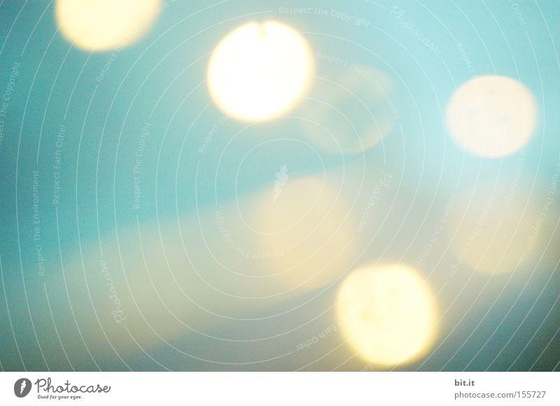 BABYFARBEN-DOTS Himmel blau Feste & Feiern träumen Kunst glänzend Energiewirtschaft Idee Punkt Wunsch erleuchten zart Laterne Jahrmarkt harmonisch